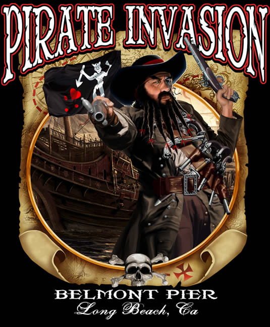 Pirate Invasion of Belmont Pier