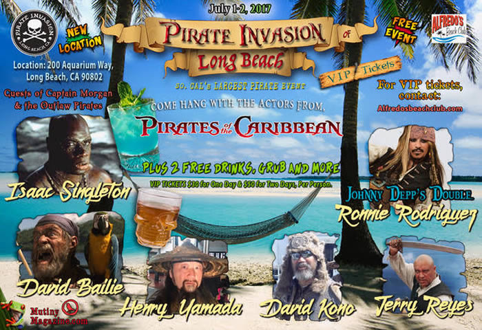 Come Hang with the actors from Pirates of the Caribbean