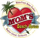 MOM'S Beach House - Waterfrront Home CookIn'